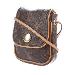 *AUTH* Louis Vuitton Monogram Cancun Crossbody Bag